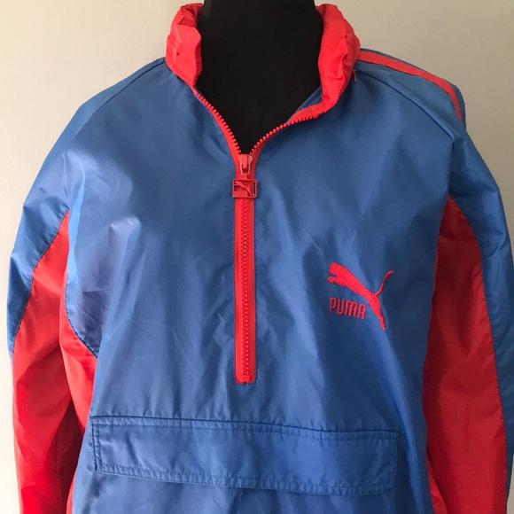 7843e18eb6fca Vintage Puma Windbreaker Jacket